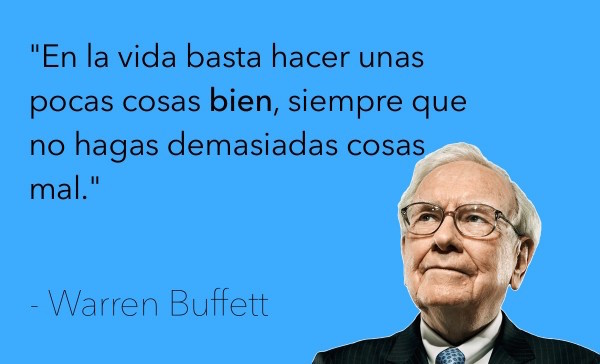 inversiones a largo plazo - Warren Buffett
