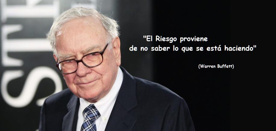 invertir mejor - Warren Buffett
