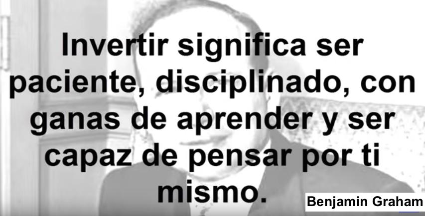 Frase Benjamin Graham