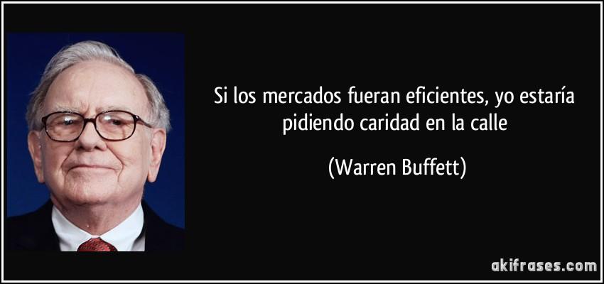 Frase Warren Buffett