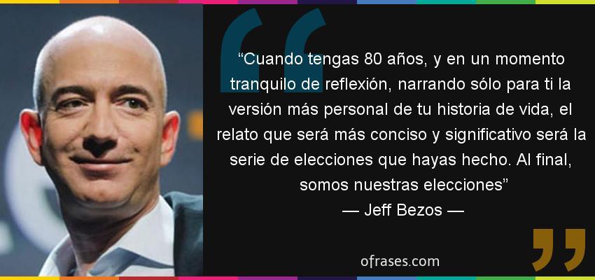 Jeff Bezos frases