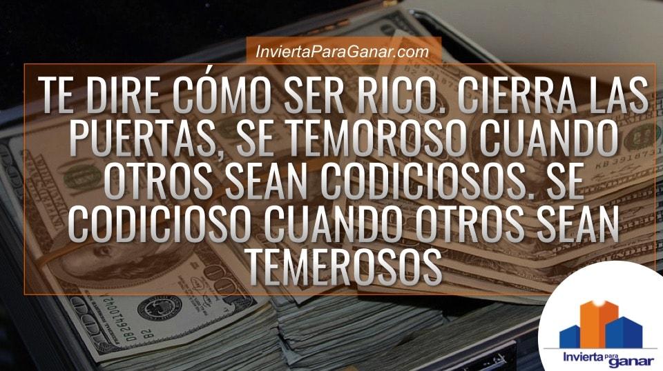 ser rico
