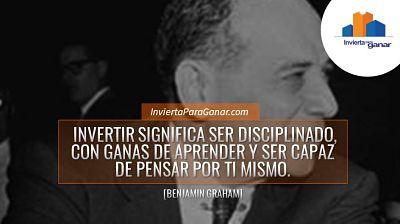 Invertir en Bolsa Benjamin Graham