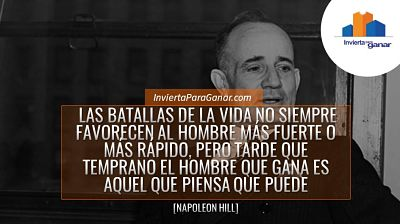 Napoleon Hill - Libro Piense Y Hagase Rico - Frases